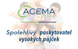 Půjčka ACEMA recenze - Nebankovní poskytovatel vysokých půjček