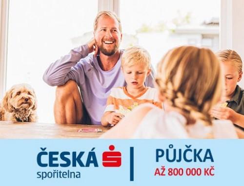 Česká spořitelna – Recenze na bankovní půjčku do 800 000 Kč