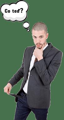 Jsi bez peněz? Naše rychlá půjčka ti pomůže