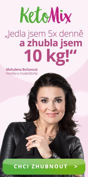 Ketomix doporučuje Mahulena Bočanová - Zhubla 10 kg