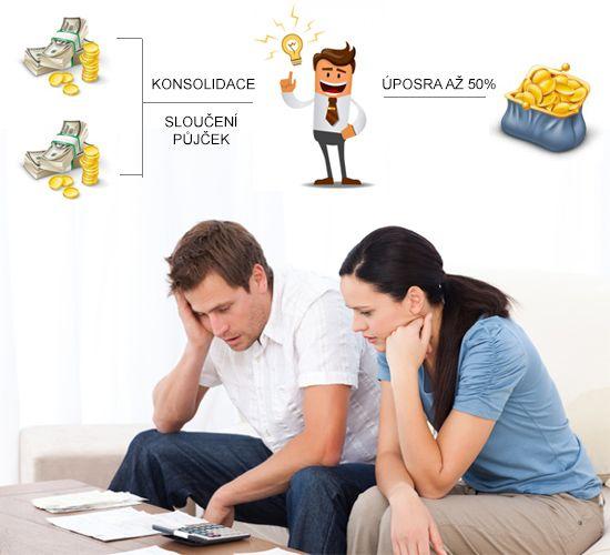 Konsolidace půjček: výhodná záchrana v případě, kdy už nevíte z čeho splácet závazky