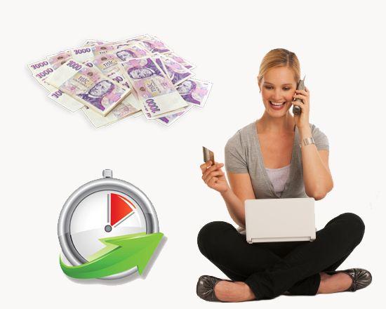 Krátkodobá rychlá půjčka na 30 dnů