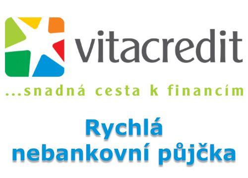 VitaCredit půjčka - Rychlá nebankovní půjčka do 100 000 Kč